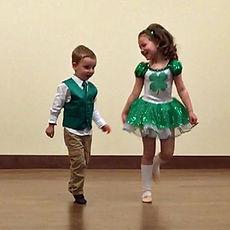 children Irish Dancing