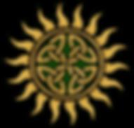 Rince na Gréine's Celtic Sun logo