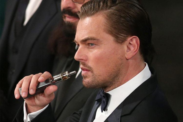 Leonardo DiCaprio - מאיד עם הסיגריה האלקטרונית