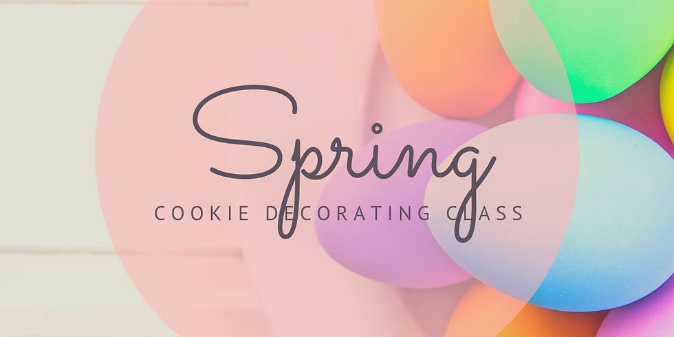 Spring Cookie Decorating Workshop (Friday)