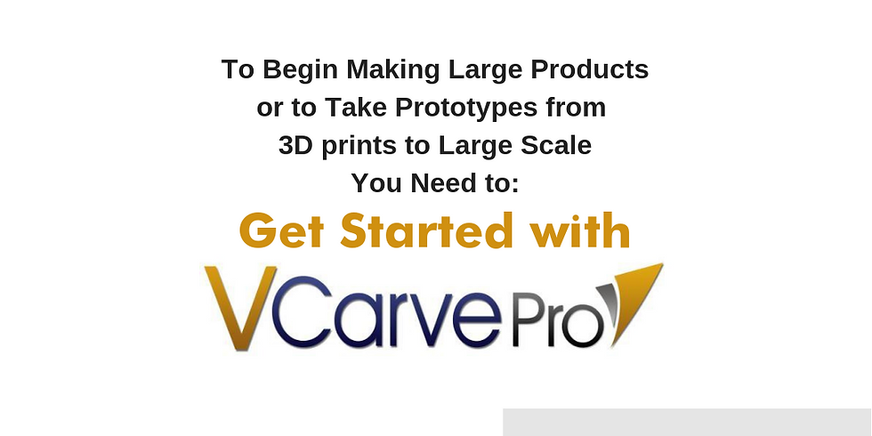 Get Started with vCarve Pro