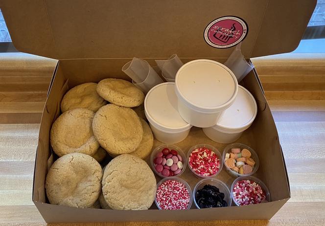 Valentine Kit Dozen Box Cookies ($24)