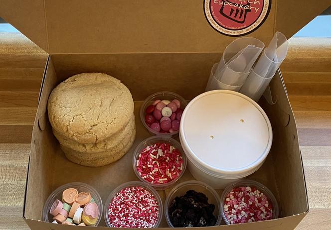 Valentine Kit Four Box Cookies ($8)