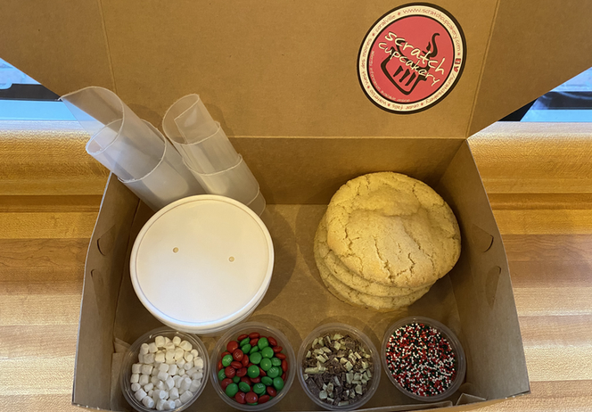 Holiday Kit Four Box Cookies