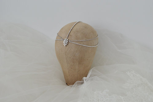 BELLE Statement Crystal Headpiece