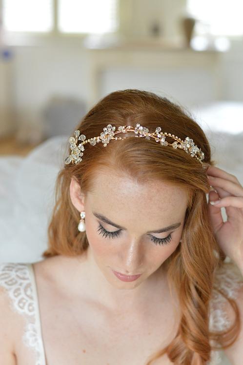 Beautiful Gold Headband