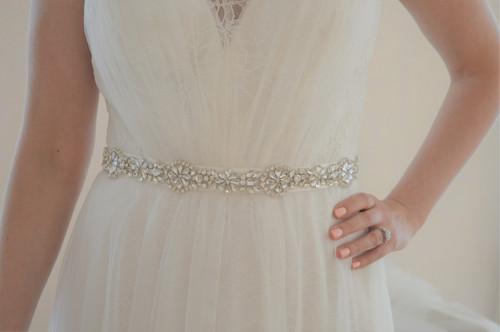 Bling Wedding Sashes for Dresses