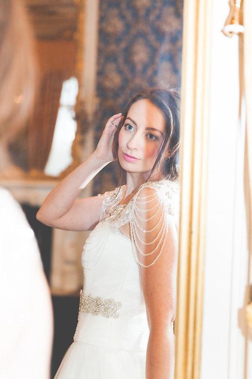 """GRACE"" Luxury Vintage Inspired Bridal Bolero"