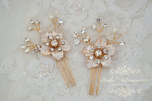 Vintage Bridal Hair Adornments