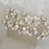 Thumbnail: Vintage Inspired Crystal Bridal Haircomb
