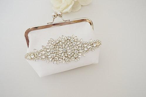 KRYSTAL Bridal Kiss Lock Bag