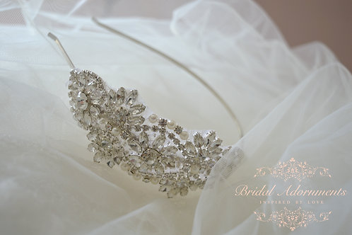 MABEL Vintage Inspired Bridal Headband