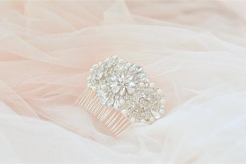 ADELE Crystal Crystal Bridal Haircomb