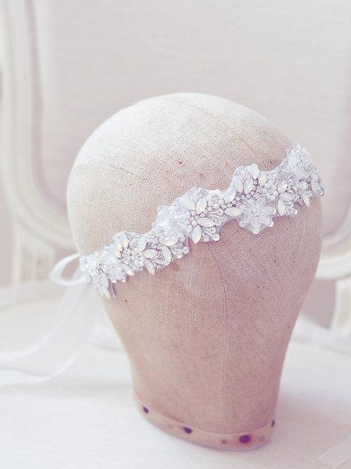 FLEUR Crystal  Opal Bridal Headband