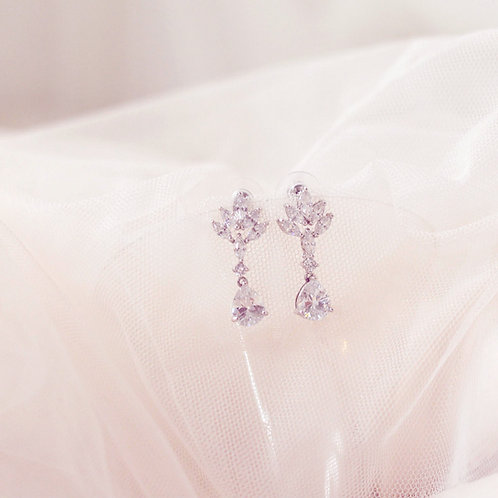 LAUREN Cubic Zirconia Bridal Earrings