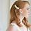 Thumbnail: Beautiful Vintage Inspired Crystal Bridal Hair Comb