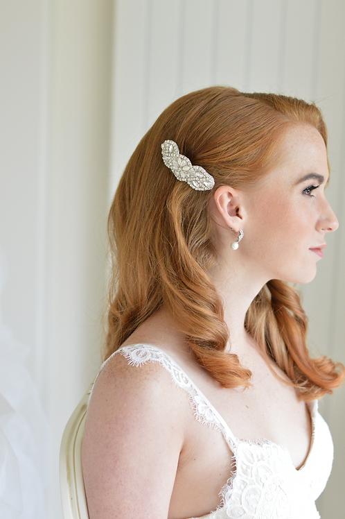 Beautiful Vintage Inspired Crystal Bridal Hair Comb