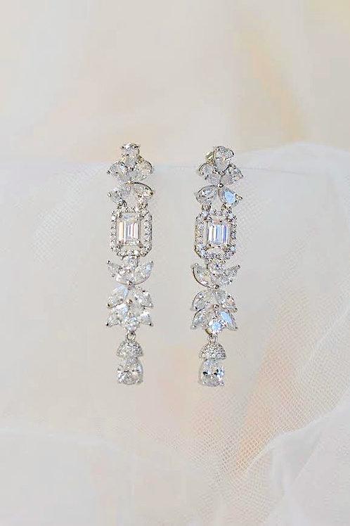 AUGUSTA Exquisite Zirconia Art Deco Style Earrings