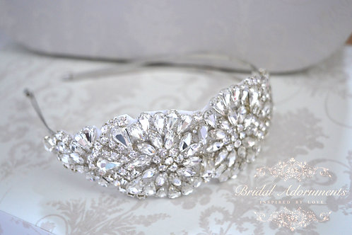 Else Vintage Inspierd Crystal Bridal Headband