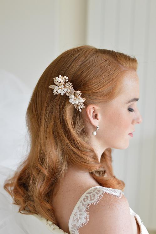 Vintage Inspired Crystal Bridal Hair Adornments