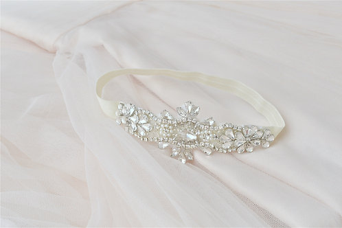 ESTELLA Vintage Inspired Crystal Bridal Garter