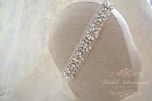 BELLAMY Crystal Bridal Headband