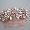 Thumbnail: MARIE Vintage Inspired Rose Gold Bridal Hair co