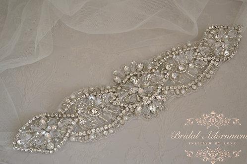 ANGELICA Vintage Inspired Bridal Headband