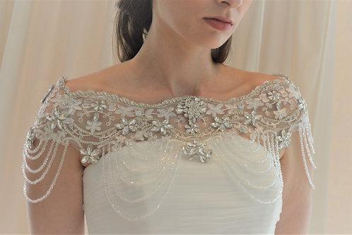 Luxury Vintage Inspired Bridal Bolero