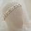 Thumbnail: GOLD BELLAMY Crystal Bridal Headband