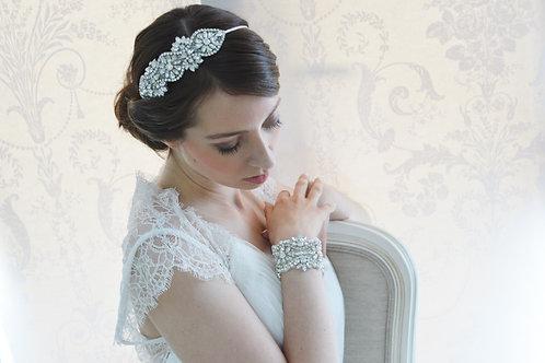 MABEL Timeless Crystal Bridal Headband