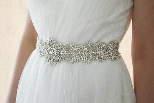ADELINE Crystal Wedding Dress Belt