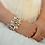 Thumbnail: New Rose Gold Crystal Bridal Cuff