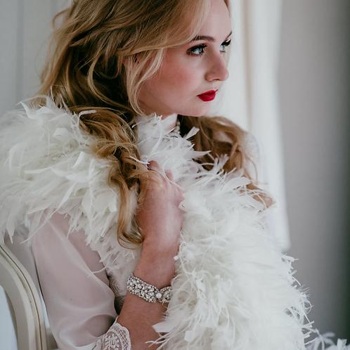 TRINITY Vintage Inspired Bridal Cuff/Bracelet