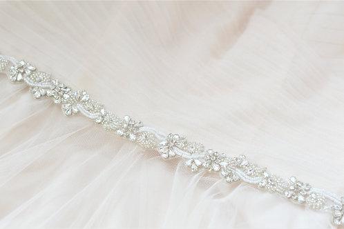 EVIE Delicate Vintage Inspired Bridal Belt/Sash