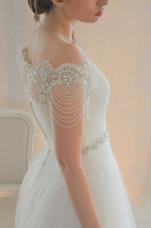 VALERIE Luxury Vintage Inspired Bridal Bolero