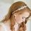 Thumbnail: GRACE Crystal Rose Gold Bridal Headpiece