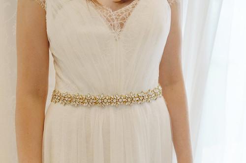 Bow Dress Belts Wedding Accessories