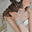 Thumbnail: DARSY Vintage Inspired Crystal and Pearl Bridal Cuff/Bracelet