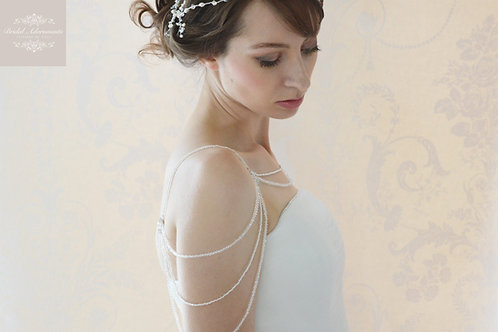 """Ella"" Stunning Shoulder Accessories"