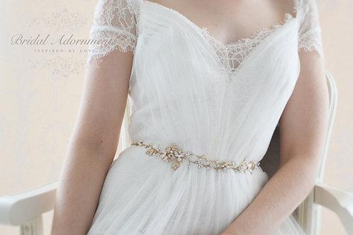 """BLOSSOM"" Wedding Dress Belt"