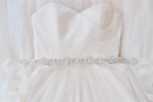 ESTELLE Rhinestone Wedding Dress Belt