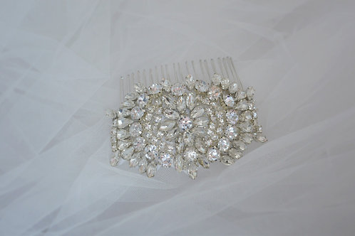 ELLA Art Deco Inspierd Crystal Bridal Haircomb