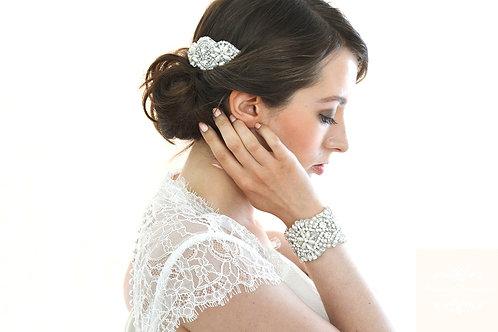 """LEOLA"" Vintage Inspired Bridal Hair Comb"