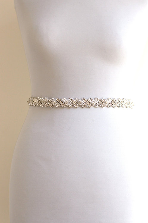 AUSTIN Crystal Wedding Dress Belt