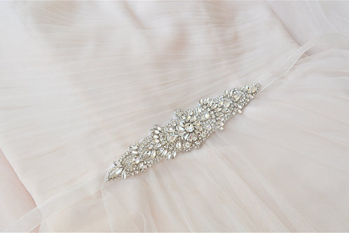 KEELEY Beautiful Vintage Inspired Bridal Belt/