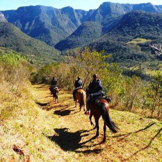Cavalgada nos Canyons