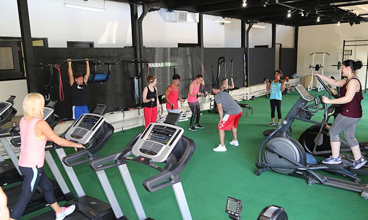 SLS Workout room