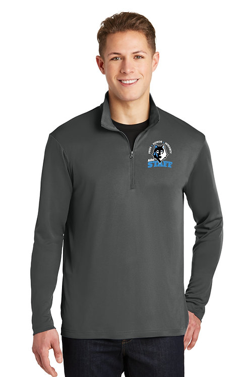 Adult 1/4-Zip Performance Pullover  ST357-STAFF