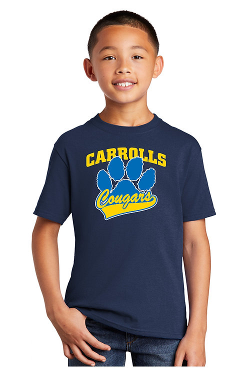 Youth Cotton Tee PC54Y-CAR